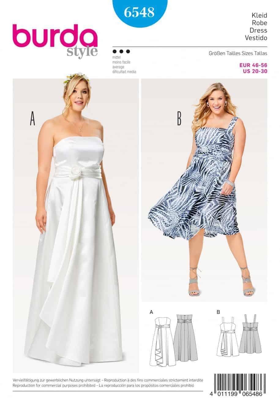 бурда для полных платья скачать выкройки бесплатно