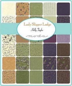 Moda Charm Pack Lady Slipper Lodge-38