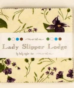 Moda Charm Pack Lady Slipper Lodge-39