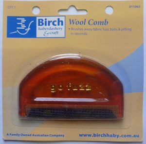 Birch Wool Comb, Fuzz Ball Remover, Pilling Remover-52