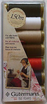 Gutermann 150 Year Anniversary Colours 150Mtr-62