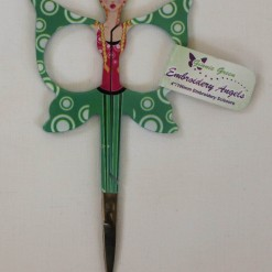 Embroidery Angels - Embroidery Scissors 4 inch (10cm) [Green]-138