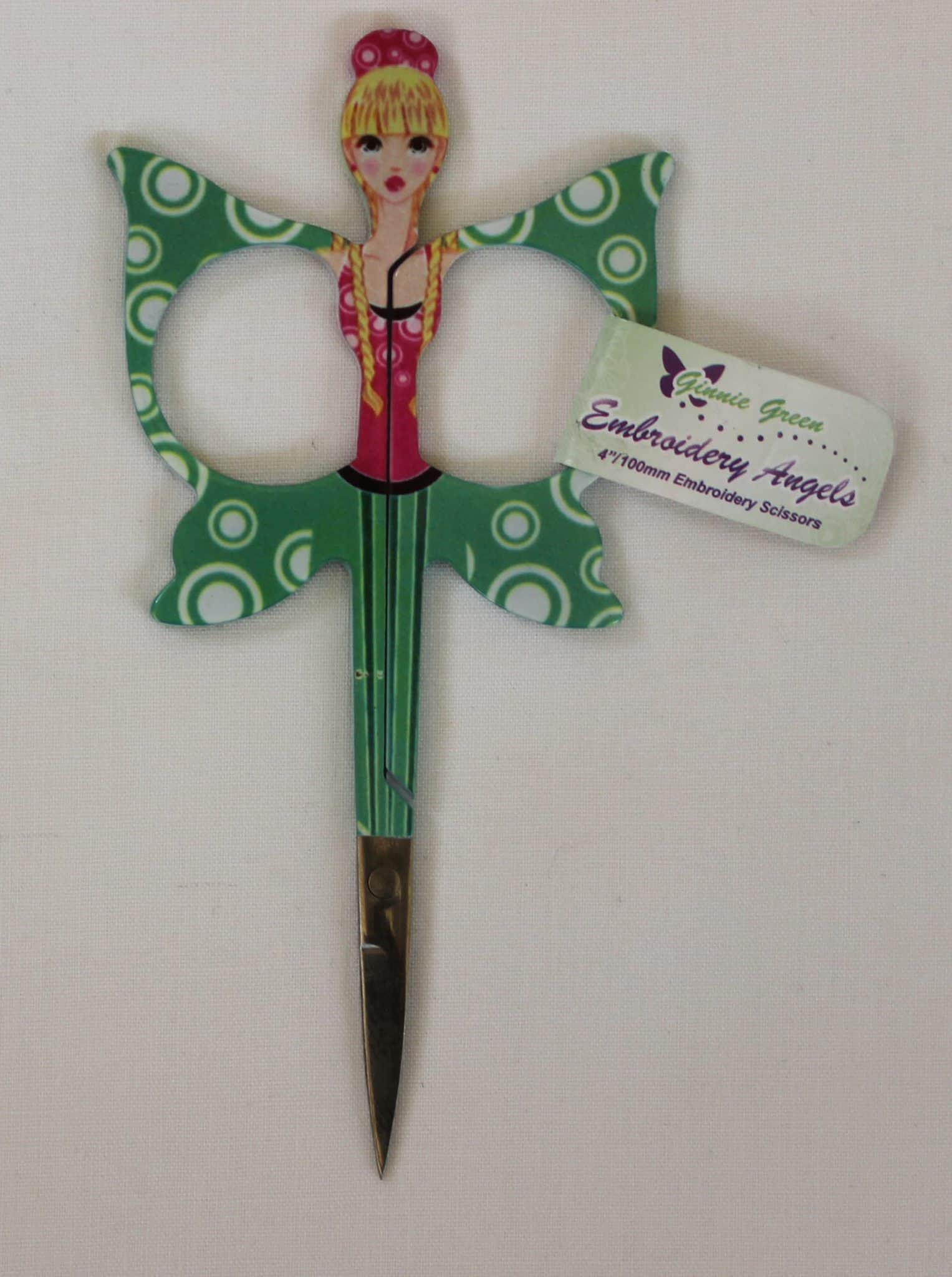 """Pink Embroidery Angels Embroidery Scissors 100mm//4/"""""""