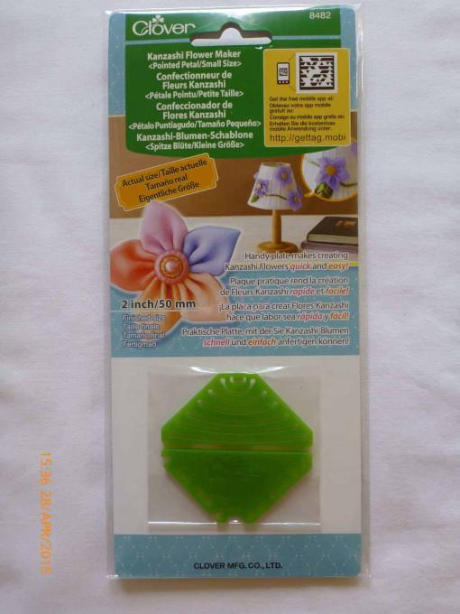Clover Kanzashi Flower Maker Pointed Petal - Small-105