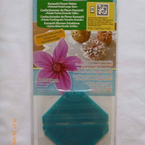 Clover Kanzashi Flower maker pointed petal - Large size-106