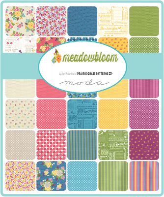 Moda Charm Pack Squares Fabric Meadowbloom-123