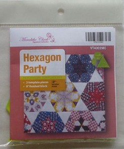 Hexagon Party Quilting Templates by Meredithe Clark - Signature Collection-126