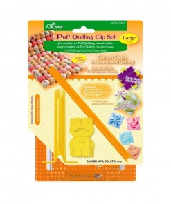 Clover Puff Quilting clip Set 8401