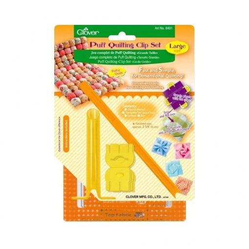 Clover Puff Quilting clip Set 8401