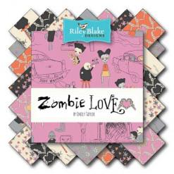 Riley Blake Fat Quarter Bundle - Zombie Love-149