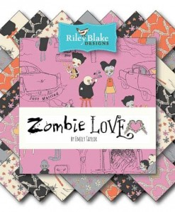 Riley Blake Fat Quarter Bundle - Zombie Love-149