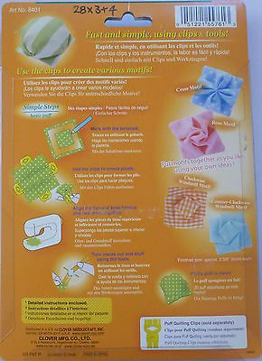 Puff Quilting Clip Set - Large Size-155
