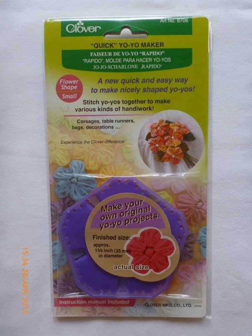 "Clover ""Quick"" Yo-Yo Maker - Flower Small-185"