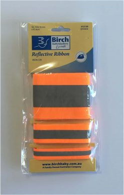 Reflective Iron on Tape - Orange