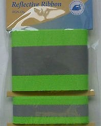 Birch Iron-on Reflective Tape - Green-178