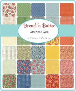Moda Fabrics Jelly Roll - Bread N Butter by American Jane-175
