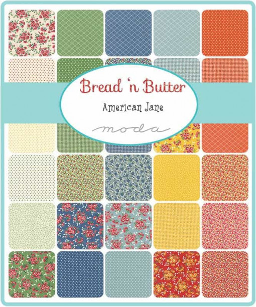 Moda Charm Pack Squares Fabric - Bread n Butter by American Jane Patterns-196