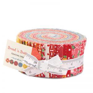 Moda Fabrics Jelly Roll - Bread N Butter by American Jane-176