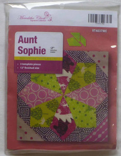 Aunt Sophie Quilting Templates by Meredithe Clark - Signature Collection-194
