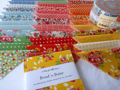 Moda Charm Pack Squares Fabric - Bread n Butter by American Jane Patterns-173