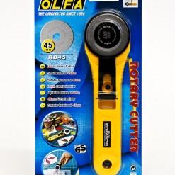 OLFA® 45mm Straight Handle Rotary Cutter (RTY-2/G)-191