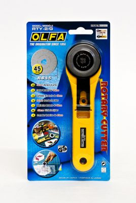 OLFA® 45mm Straight Handle Rotary Cutter (RTY-2/G)-191