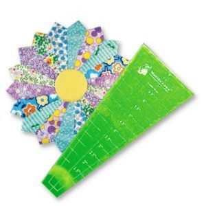 Dresden Plate - Quitling Template 10""