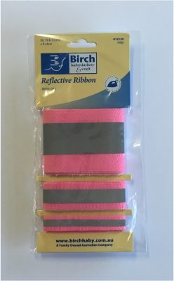 Reflective Iron on Tape - Pink