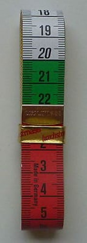 Tape Measure - Multi Colour 150cm/60inches-218
