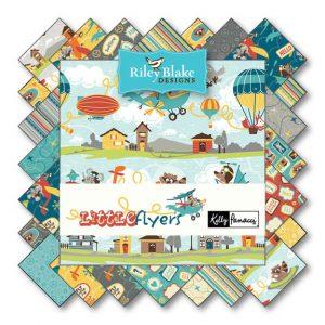 Riley Blake Rolie Polie - Little Flyers-249