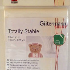 Gütermann Sulky Totally Stable 50 cm x 1 mtr - White-251