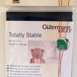 Gütermann Sulky Totally Stable 50 cm x 1 mtr - White-253