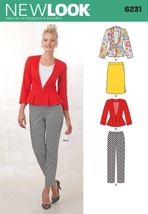 Sewing Pattern Sportswear 6231