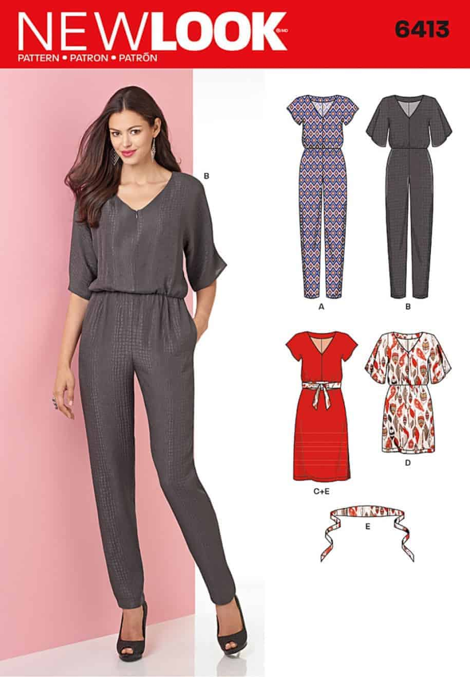 Simplicity new look sewing pattern dresses 6413 alisellou designs 6413envfront jeuxipadfo Image collections