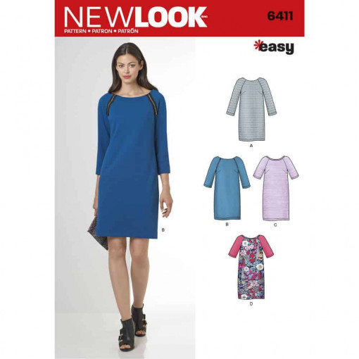 New Look Pattern 6411