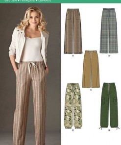Sewing Pattern Skirts Pants 6005