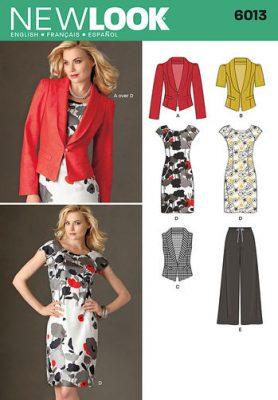 Sewing Pattern Sportswear 6013
