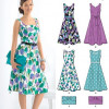 Sewing Pattern Dresses 6020
