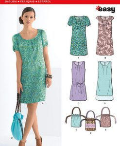 Sewing Pattern Dresses 6022