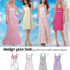 Sewing Pattern Dresses 6046