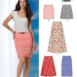 Sewing Pattern Skirts Pants 6053