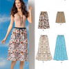 Sewing Pattern Skirts Pants 6054