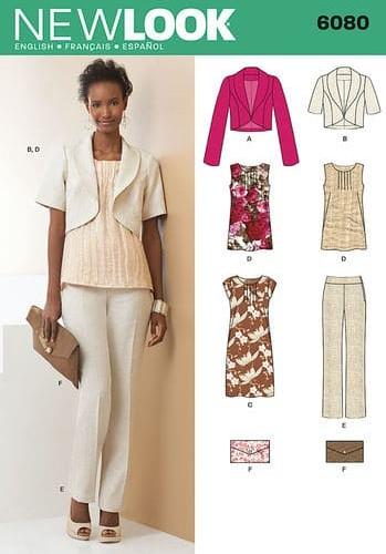 Sewing Pattern Sportswear 6080