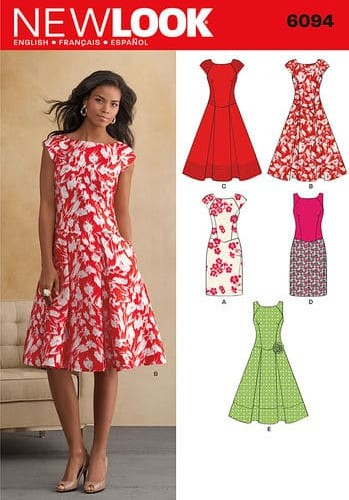 Sewing Pattern Dresses 6094