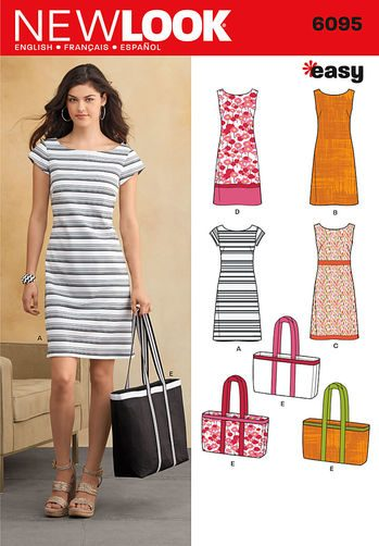 Sewing Pattern Dresses 6095