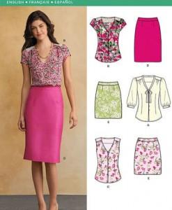 Sewing Pattern Sportswear 6107