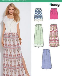 Sewing Pattern Skirts Pants 6129