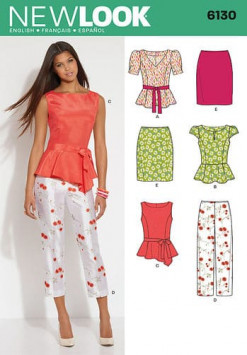 Sewing Pattern Sportswear 6130