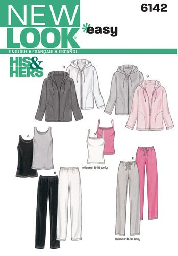 Sewing Pattern Sportswear 6142