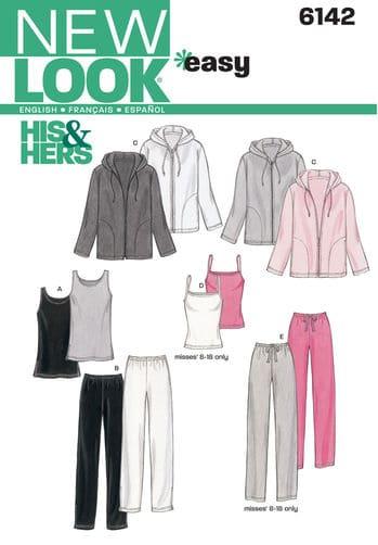 Sewing Pattern Sportswear 6142